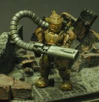 Halo Mega Bloks Spartan: Famine (Halo) Custom Miniature