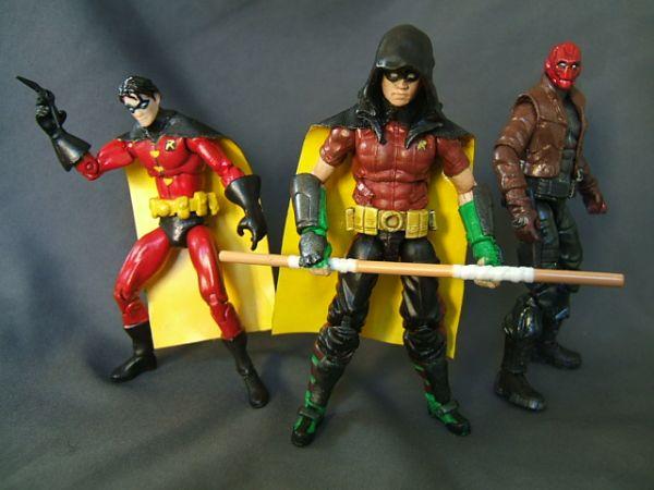Robin Arkham City Hood Robin  robin  red hoodRobin Arkham City Hood