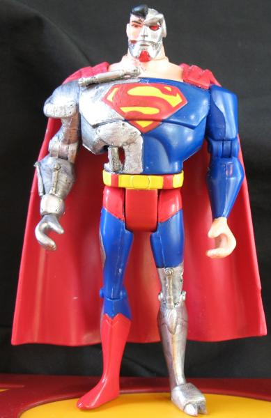 JLU Cyborg Superman Justice League Unlimited Cyborg