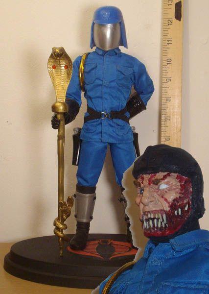 Cobra commander unmasked - photo#13
