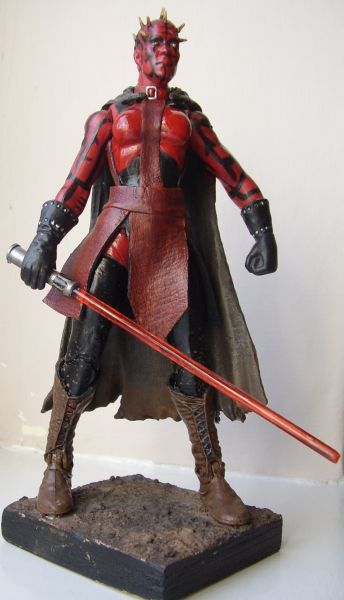 Zabrak Female Sith Custom Action FigureFemale Sith Zabrak