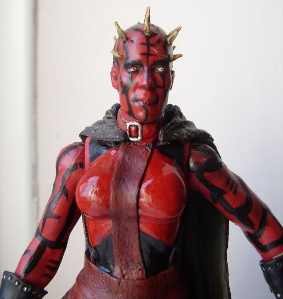 Zabrak Female Sith  Star Wars  Custom Action FigureFemale Sith Zabrak