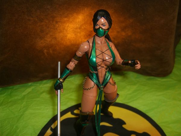Mortal Kombat Jade And Reptile