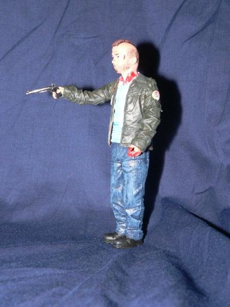 Travis Bickle with Gunshot Wound (Taxi Driver) Custom Action Figure