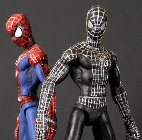 Spiderman physique