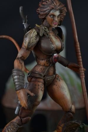 Female Thundercats on Cheetara  Thundercats  Custom Action Figure