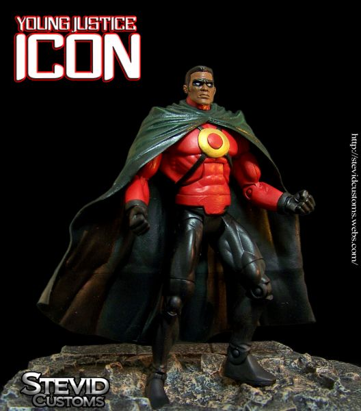 Icon Young Justice Custom Action FigureYoung Justice Icon