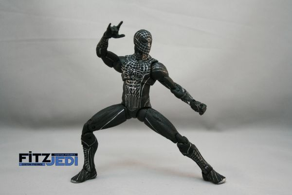 The amazing spider man black suit - photo#13