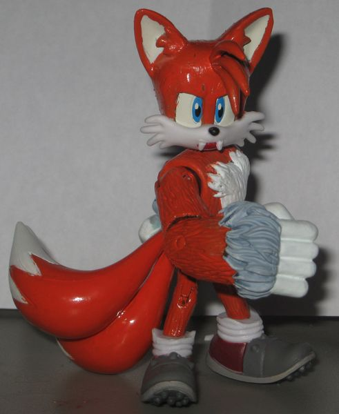 Wolf Toys For Boys : Tails the wolf fox sonic figure inque