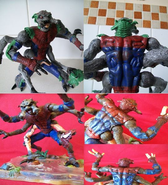 Spiderman man spider mutation
