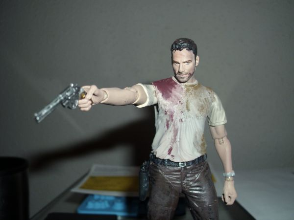 Walking Dead Rick Grimes (Walking Dead) Custom Action Figure