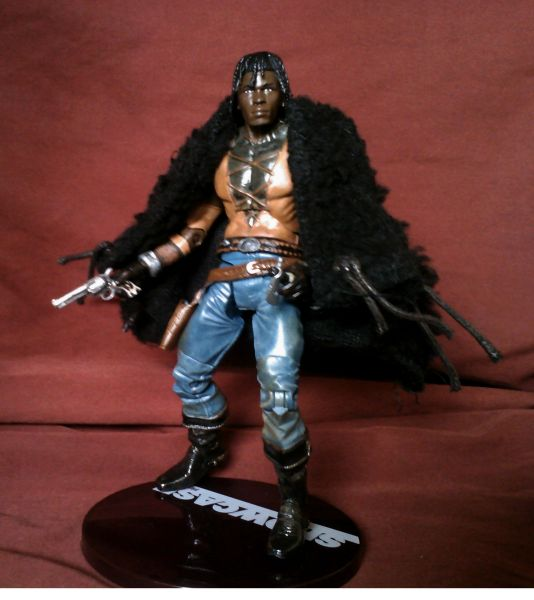 Haitian Jack   Bad Eagles Black Tears Custom Action FigureHaitian Jack