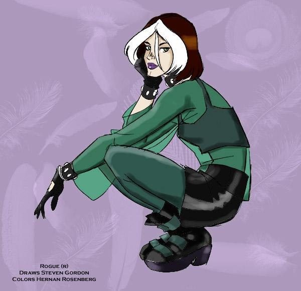 X Men Evolution Rogue Outfits