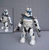 Clone Trooper Captain Rex Mega Bloks (Mega Bloks) Custom
