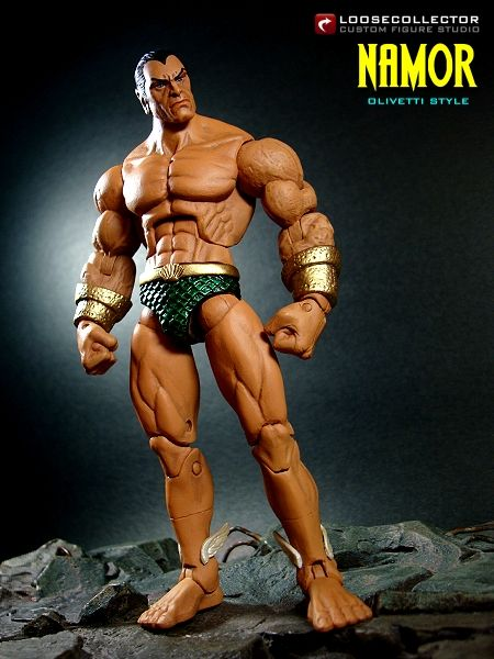 Olivetti-Style  Namor the Submariner  Second figure for the day is    Namor The Submariner Movie