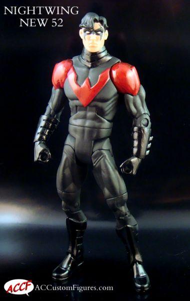 Nightwing New 52 Custom Action Figure