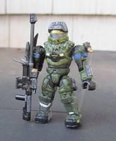 Halo Reach Jun Mega Bloks (Mega Bloks) Custom Action Figure