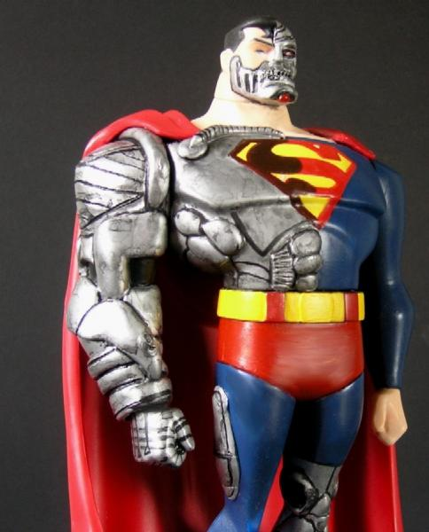 Cyborg Superman JLU Justice League Unlimited Cyborg