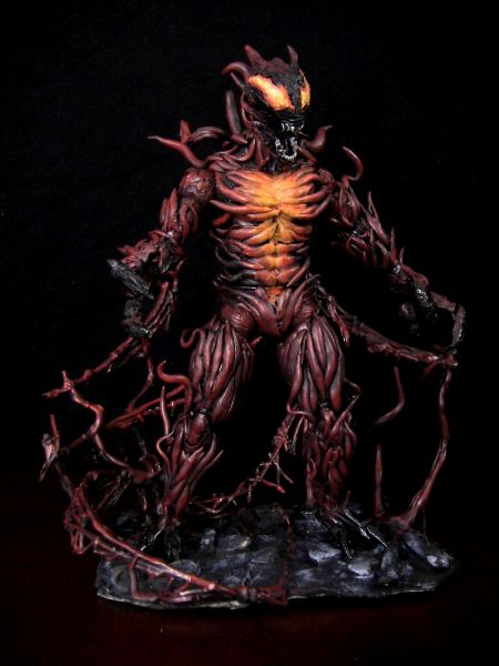 Ultimate spiderman carnage figure - photo#5