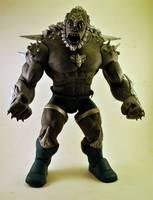 Doomsday Dc Universe Classics Baf Style Dc Universe Custom Action Figure