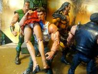 Double Dragon Marian Kelly Double Dragon Custom Action Figure