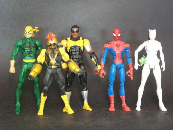 Ultimate spider man nova toy