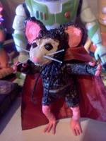 Dratcula (Dracula) (Mouse Guard) Custom Action Figure