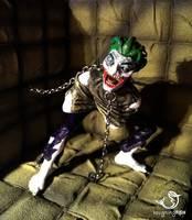 Arkham Asylum Straightjacket Joker (Batman) Custom Action Figure