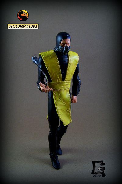 Scorpion Movie 1995 Mortal Kombat Custom Statue Bust