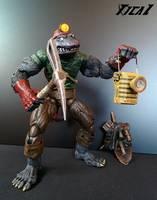 Dirtbag Teenage Mutant Ninja Turtles Custom Action Figure