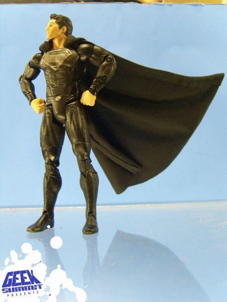 Black Suit Superman Man of Steel Man of Steel Superman in