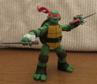 2012 Tmnt Raphael Teenage Mutant Ninja Turtles Custom Action Figure
