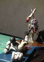 Zombie R2-D2 with Clonetrooper Diorama(Update) (Zombies) Custom