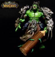 Orc Shaman World Of Warcraft Custom Action Figure