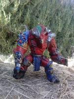 Groundchuck Teenage Mutant Ninja Turtles Custom Action Figure