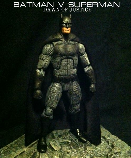 ... Universe DCUC Movie Masters Arkham Concept Figure Custom Action Figure