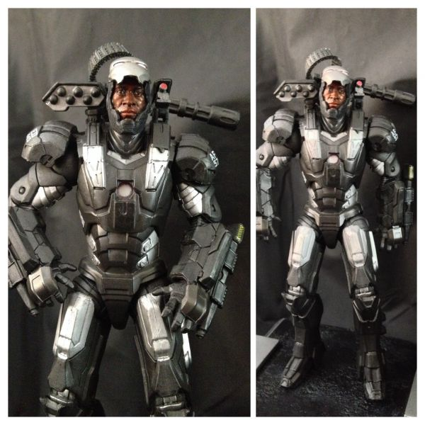 WAR MACHINE Don Cheadle RHODIE  Marvel  Custom Action FigureDon Cheadle War Machine