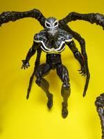 superior venom marvel legends custom action figure
