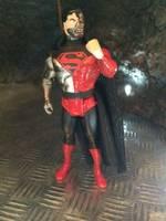 lire description Custom chromé cardées super pouvoirs Cyborg Superman