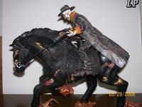 Carter Slade's Horse (Ghost Rider) Custom Action Figure