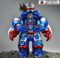 war machine iron patriot anti hulk armor lego custom