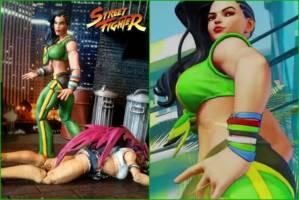 Laura Matsuda (Street Fighter V) (Street Fighter) Custom