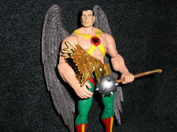 Alex Ross Hawkman Hawkman Unmasked Custom Action