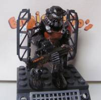 Fallout 4 Power Suit Armor (Mega Bloks) Custom Action Figure