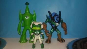 738aee1e2f2 Green Lantern the New Recruits (Ben-10) Custom Action Figure