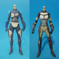Bo Katan Kryze Star Wars Clone Wars Custom Action Figure