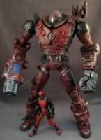 Headpool mech suit marvel custom action figure for Headpool