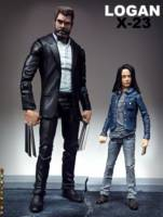Old Man Logan And X 23 Logan Movie Marvel Legends