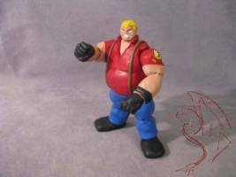 Bob Tekken Custom Action Figure