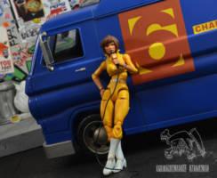 Channel 6 News Van Teenage Mutant Ninja Turtles Custom
